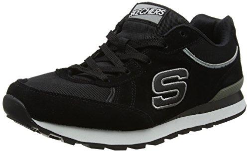Skechers Originals Retros Og 82 Fashion Sneaker Black / White Para Hombre