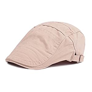 Funjoy Mens newsboy Cabbie Driving Hat Retro Peaked Hat Caps For Spring Summer 32
