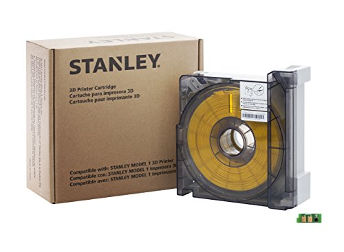 STANLEY-3D-Printer-Cartridge-ABS-Yellow