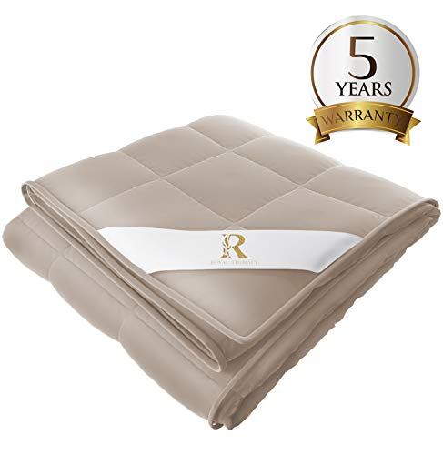 Cheap Royal Therapy Weighted Blanket (60 x80 20lbs Texas Leather) Black Friday & Cyber Monday 2019
