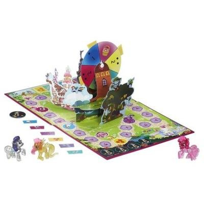 My Little Pony Ponyville Party Game (Board Little Game Pony My)