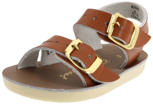 Salt Water Sandals by Hoy Shoe Sea Wees,Tan,4 M US Toddler (Salt Water Sandals Size 3 compare prices)