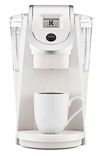 Keurig K250 Single Serve, Programmable K-Cup Pod Coffee Maker with strength control, Sandy Pearl by Keurig