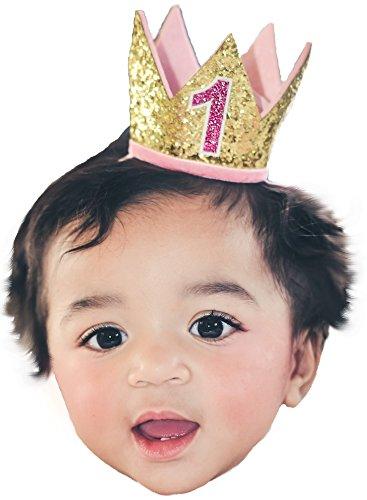 Pink Felt Cake Headband - 3