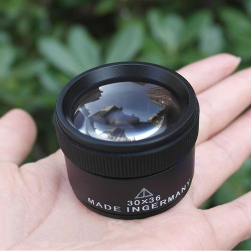 SSXY 36X Magnifying Glass 36Mm Lens-Type Jewelry Amplifier Optics Loupes Glass Lens Loop Portable Microscope Magnifier