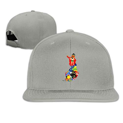 Hip Hop OUYKSfc Finnish Regions' Coat of Arms Hat Adjustable Flat Bill Hat Baseball Cap (Coat Of Arms Finnish)