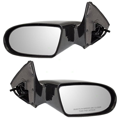 Driver and Passenger Manual Side View Mirrors Smooth Replacement for Geo Suzuki 10199651 15637916 AutoAndArt ()