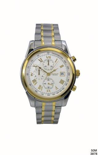 Sekonda 3878 Mens Chronograph Two Tone Watch