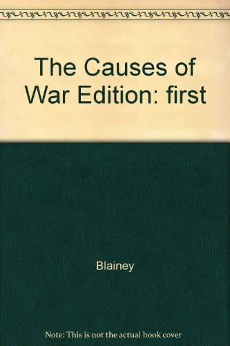 CAUSES OF WAR, THE.