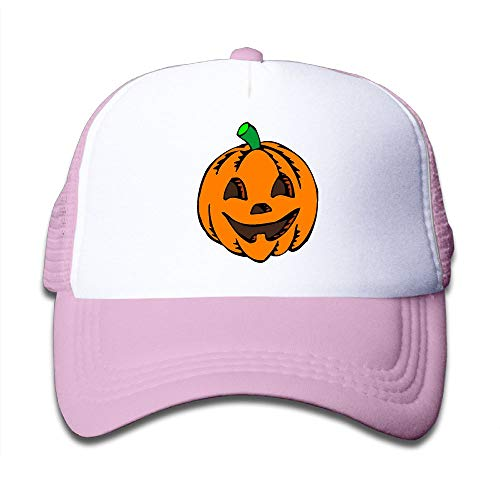 Pumpkin Clipart Halloween On Boys and Girls Trucker Hat, Youth Toddler Mesh Hats Baseball Cap