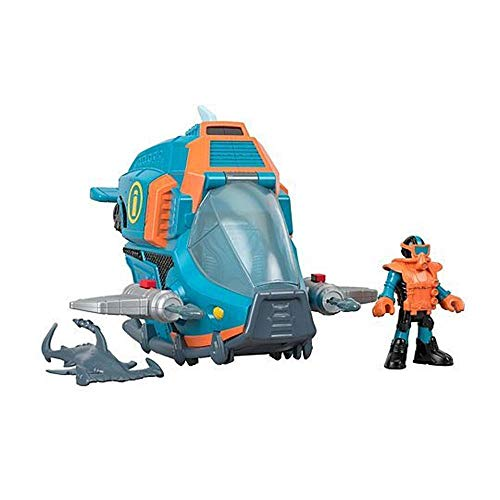 Imaginext Veiculo Rastreador de Tubaroes Fisher-Price GKG78