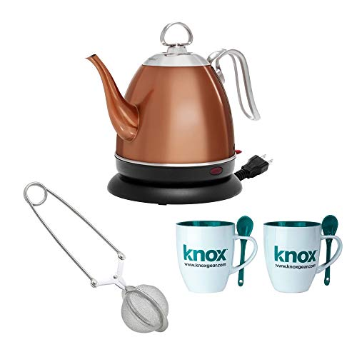 chantal orange tea kettle - 7