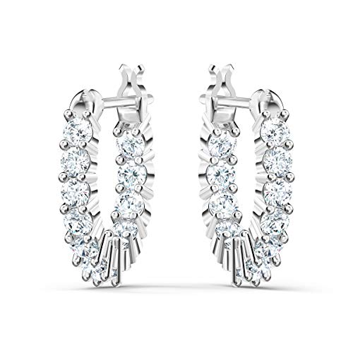 SWAROVSKI Women's Vittore Earrings Jewelry Collection, Clear Crystals