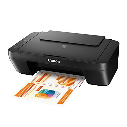 Canon Pixma MG2510 All-In-One Print Scan Copy Inkjet Printer - Ink Not Included (Black)