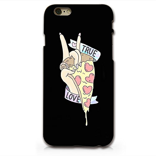 PIZZA True Love Plastic Phone Case for Iphone 6_ SUPERTRAMPshop (Cases 3d For 4 Pizza Iphone)