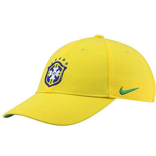 Nike Brazil Mens Core Cap [Varsity Maize] (MISC) Nike Jersey Cap