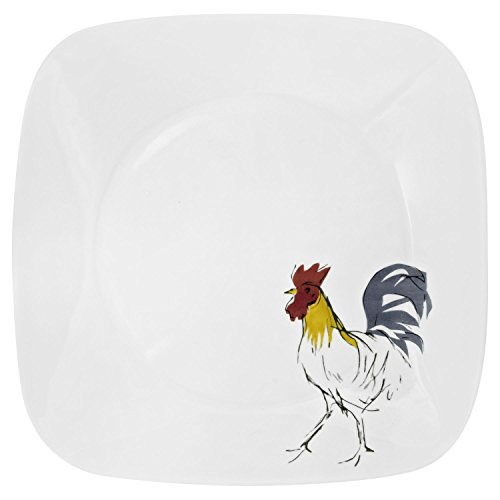 corelle rooster plates - 1
