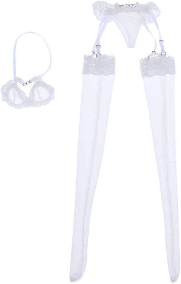 1/6 Scale Vogue Female Fashion White Knit Beanie Hat