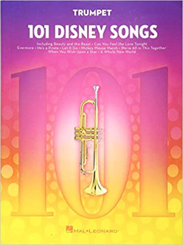 Amazon com: 101 Disney Songs: for Trumpet (0888680707194): Hal