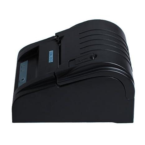 Impresora térmica de recibos de punto negro 58mm de la UE