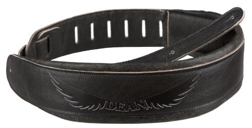 dded Leather Guitar Strap 3.5 Engraved ( ()