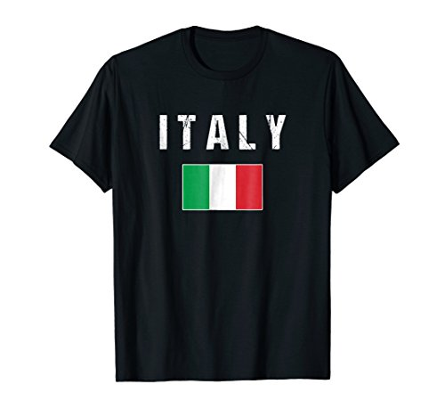 - Italy T-shirt Italian Flag Italia For Men/Women/Youth/Kid