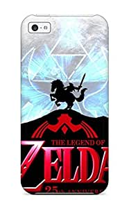 Hot Tpu Cover Case For ipod/ touch4 Case Cover Skin - The Legend Of Zelda Adventure Game
