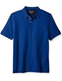 Mens Short Sleeve Solid Deck Shirt