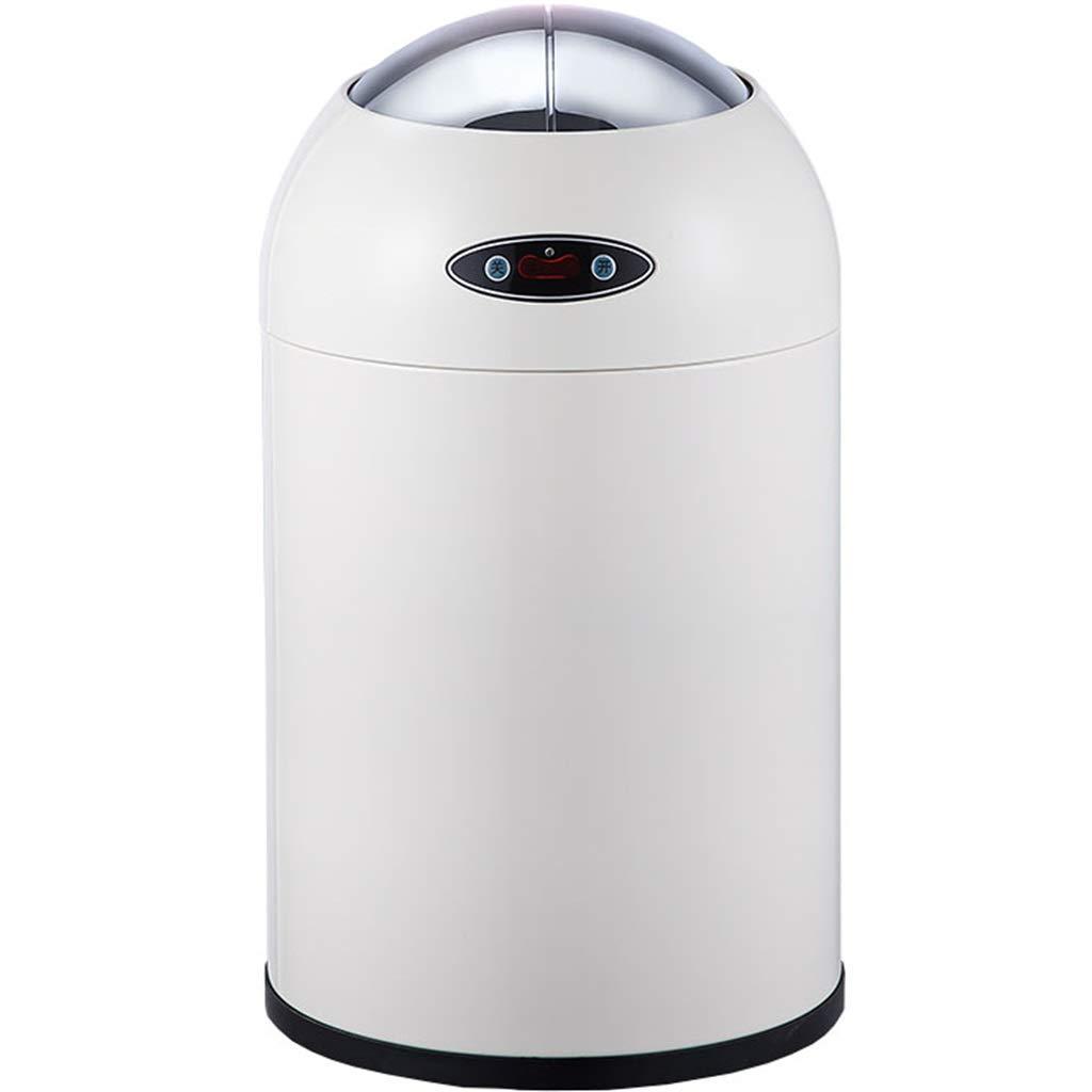 amazon Capteur sans contact de cuisine automatique Poubelle/poubelle/conteneur de déchets/poubelle-6 L blanc pas cher prix
