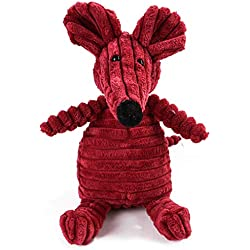 DealinM Animal Modeling Toy,Funny Animal Little Stuffed Toys Great for Pet Gift Red