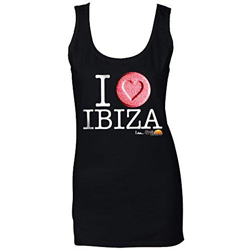 ea0b429aaa9f I Love Ibiza Herz Ibiza Damen Tank Schwarz zZExiP0K - tame.ckt ...