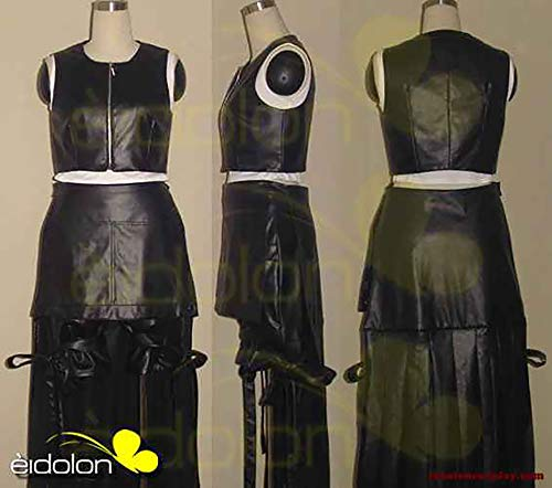 Final Fantasy VII Tifa Lockhart Cosplay Halloween Costume Game for Cosplay Show Party Men Women,XS -
