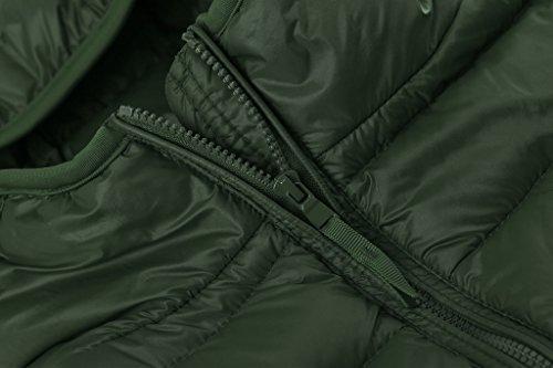 Leggero Richiudibile Giacca Nerastro Ultra Wantdo Verde Piumino Donna Incappucciato zPUnTxqIw