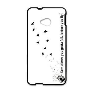 Canting_Good,Dandelion, Custom Case for HTC One M7(Laser Technology)