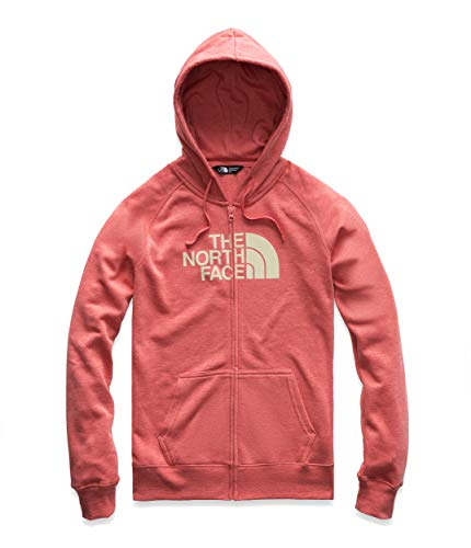 Jersey The Print North Face - The North Face Women's Half Dome Full-Zip Hoodie, Spiced Coral Heather/Vintage White, Size XL