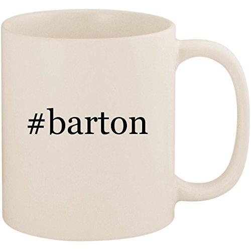 (#barton - 11oz Ceramic Coffee Mug Cup, White)