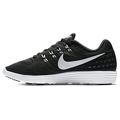 7c01a0eabe59 Nike Mens Lunartempo 2 Black Black Anthracite Running Shoe 10.5 Men US
