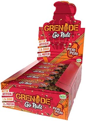 Grenade Carb Killa Go Nuts Bar, 15 Riegel