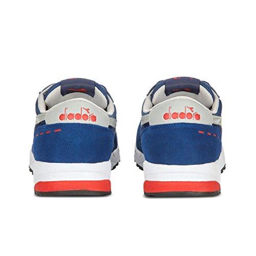 C2935 Uomo Low Blu Fiamma Run 90 Estate rosso Diadora Top Scarpe wqXY1ntF