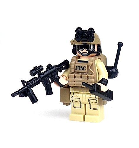 JTAC/CCT Air Force Special Forces (SKU9)- Battle Brick Custom Minifigures