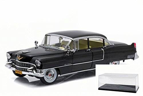 GreenLight Collectibles 1955 The Godfather Cadillac Fleetwood Series 60 Special Die-Cast Vehicle (1:18 Scale), Black