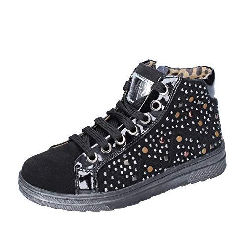 DIDI BLU Fashion-Sneakers Baby-Girls Suede Black 13-13.5 US