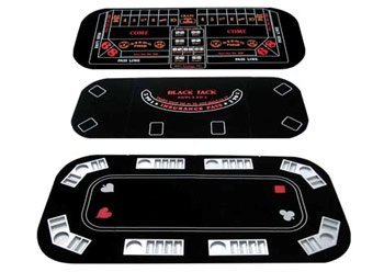 3 in 1 Texas Hold'em Table Top (Poker/Craps/Blackjack)