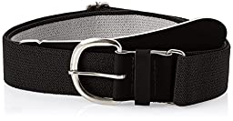 Champro Elastic Baseball Belt with 1.5-Inch Synthetic Tab (Black, 28-52-Inch)