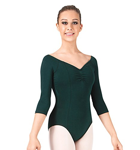 adult-3-4-sleeve-leotard7121blksblacksmall