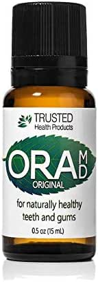 OraMD Dentist Recommended Worldwide 100% Pure Breath Freshener for Bad Breath, Halitosis Canker Sores, Gum Boils and Tooth Abscesses. (1)