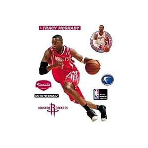 Fathead Tracy McGrady Houston Rockets Wall Decal