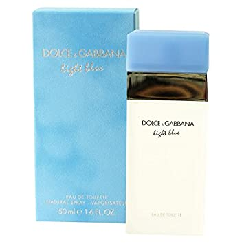 987c34af Image Unavailable. Image not available for. Color: Dolce & Gabbana Light  Blue For Women. Eau De Toilette Spray, 1.6 Ounces