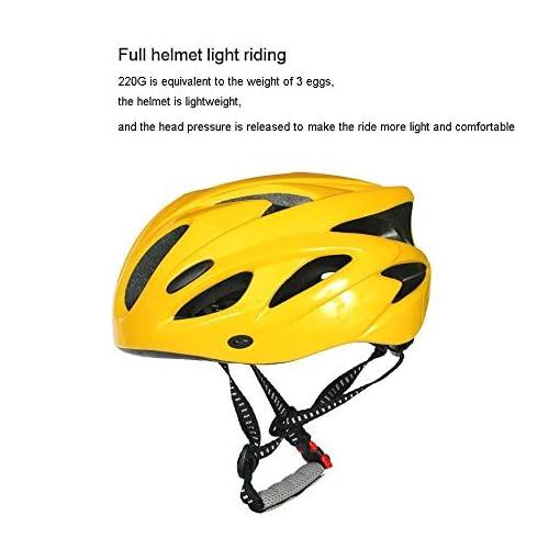 WJHCDDA Casque de vélo Casque vélo Urbain Femme Casque vélo VTT Vélo vélo Planche à roulettes Scooter Hoverboard Casque de sécurité for l'équitation légère réglable Respirant Casque (Color : Blue)