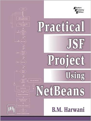 Practical JSF Project Using NetBeans, B M  Harwani, eBook